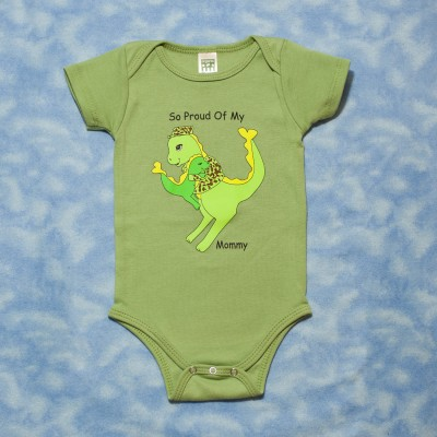 72c309bb6 Proud of My Mommy-Armed Forces Onesie