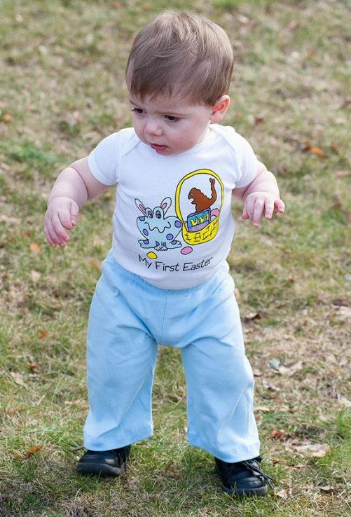 my boo and you, onesie, easter, organic baby clothes